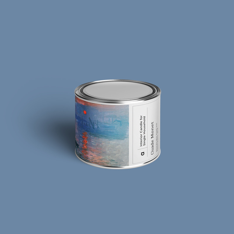 Art-Candle : Cluade Monet No.2 110g