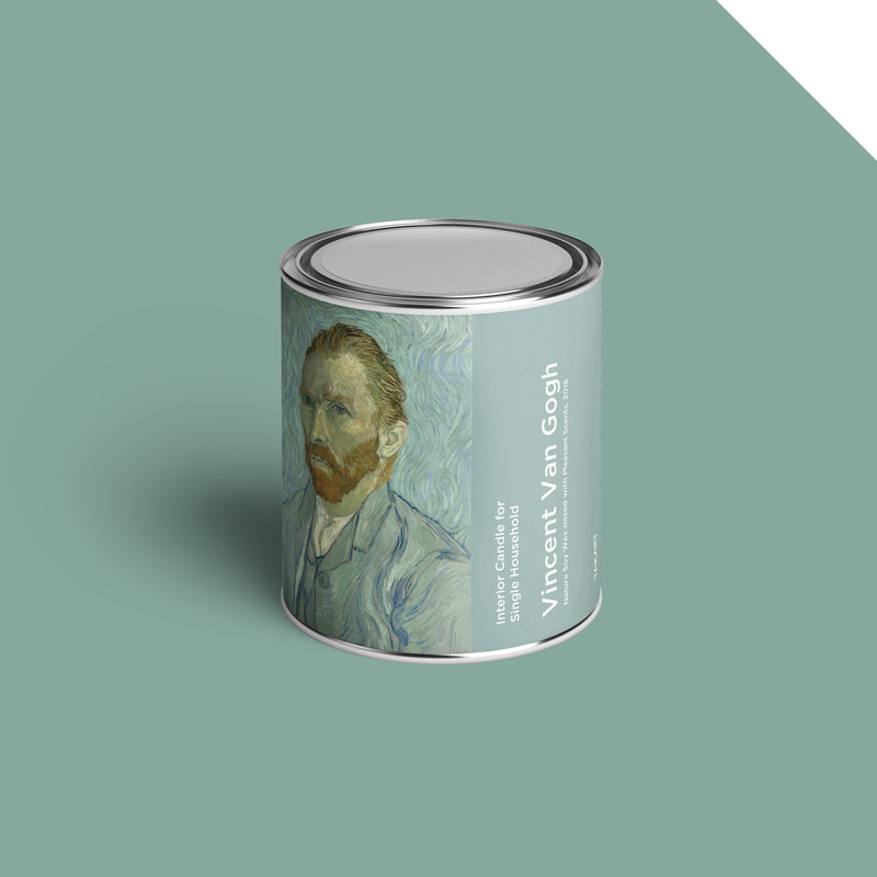 Art-Candle : Vincent Van Gogh No.2 350g