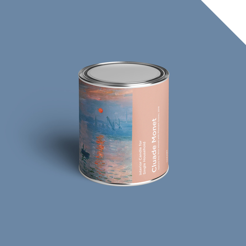 Art-Candle : Cluade Monet No.2 350g