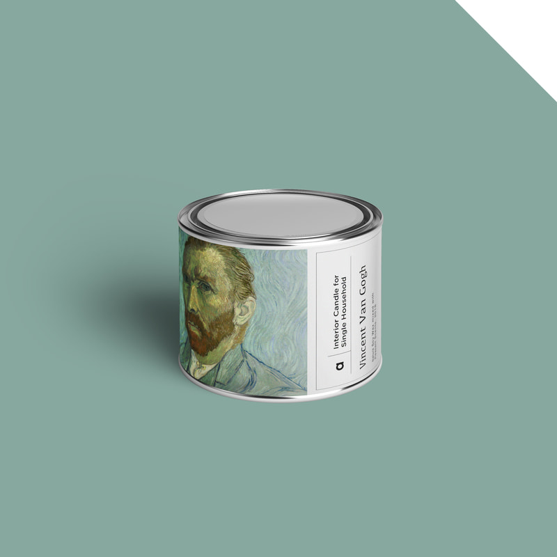 Art-Candle : Vincent Van Gogh No.2 110g